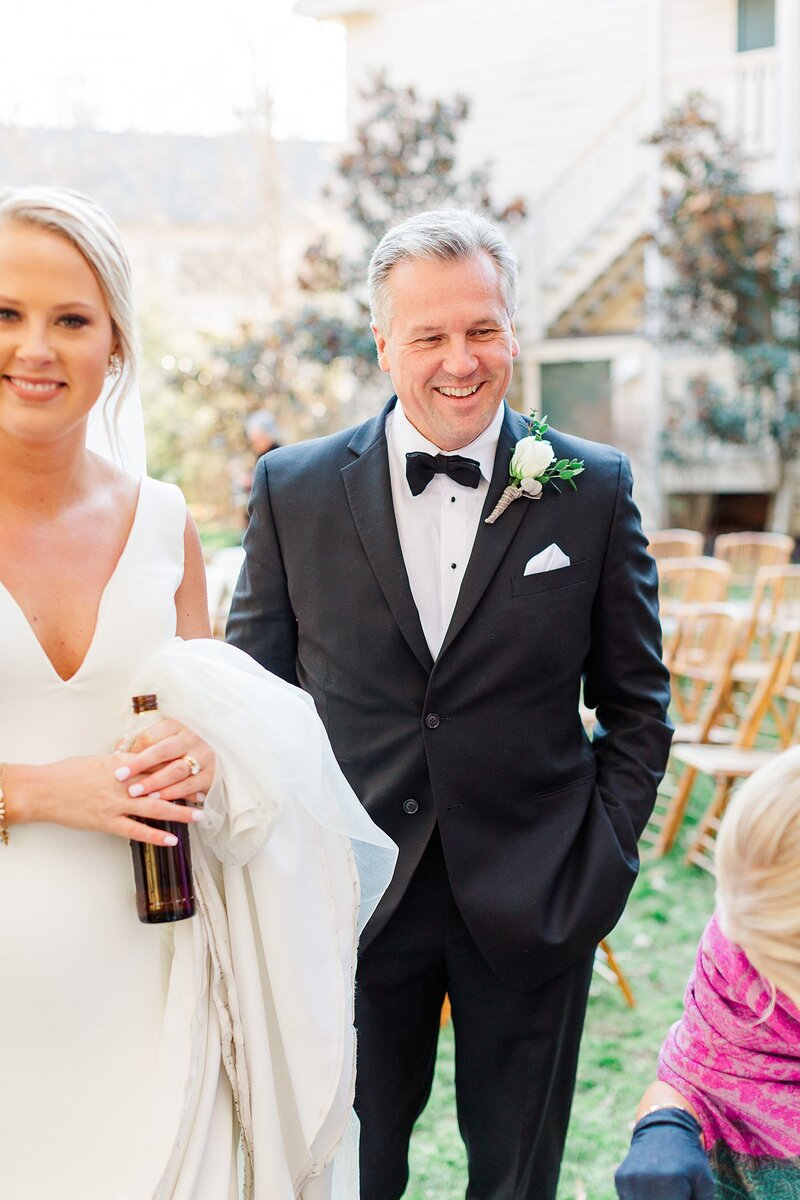 father of the bride by Knoxville Wedding Photographer, Amanda May Photos