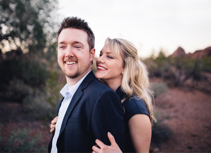 Husband and wife videography team in Arizona