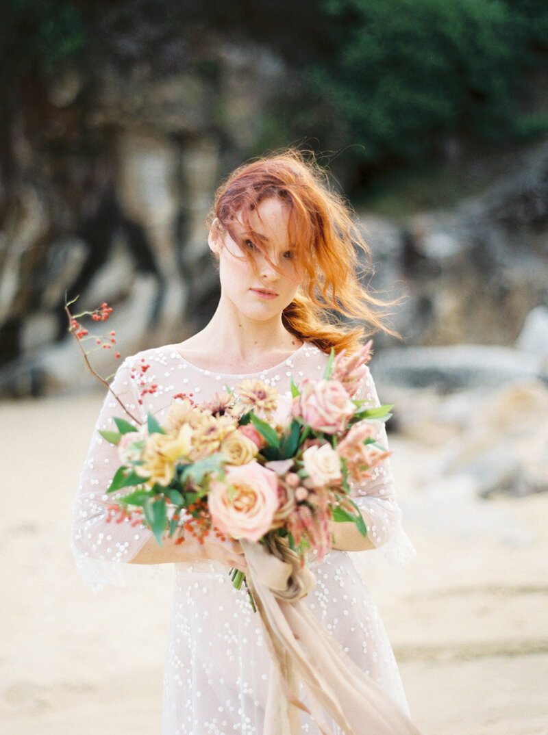 Sydney Fine Art Film Wedding Photographer Sheri McMahon - Sydney NSW Australia Beach Wedding Inspiration-00025