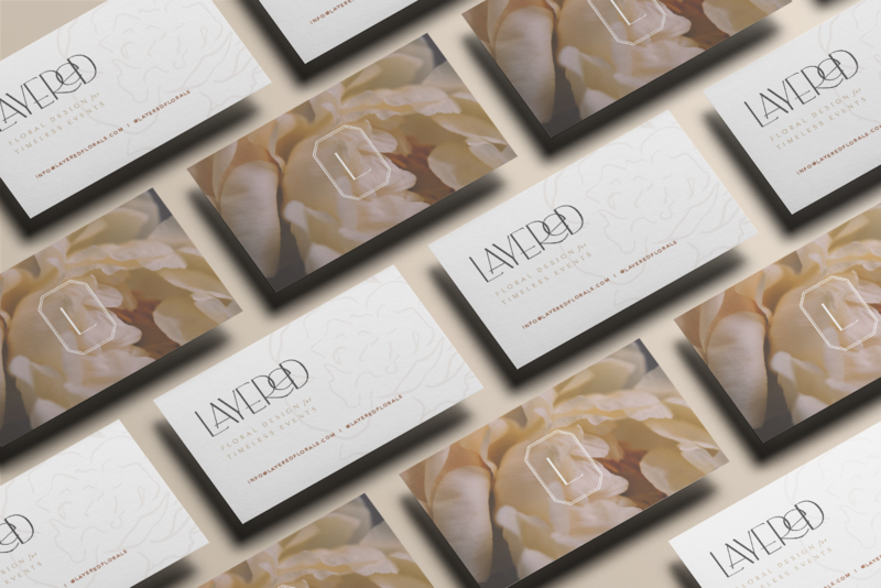 Business Card mockup Layered by Petite Poppy Designs
