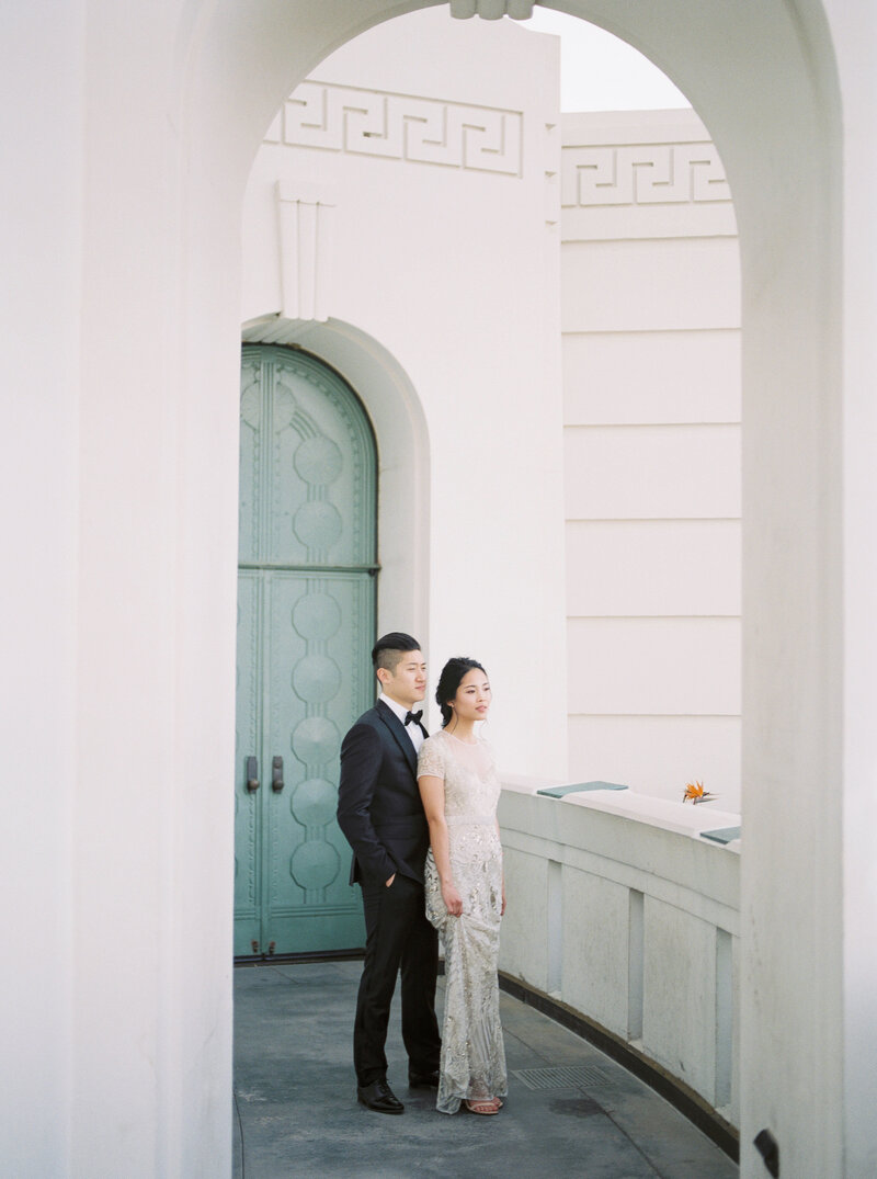 Griffith Observatory-Wedding-Film-Naeem Khan gown-Liz Andolina Photography