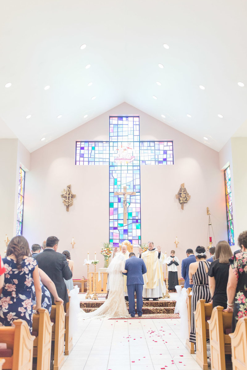 dusty-blue-navy-romantic-holy-family-church-steubenville-ohio-wedding-32