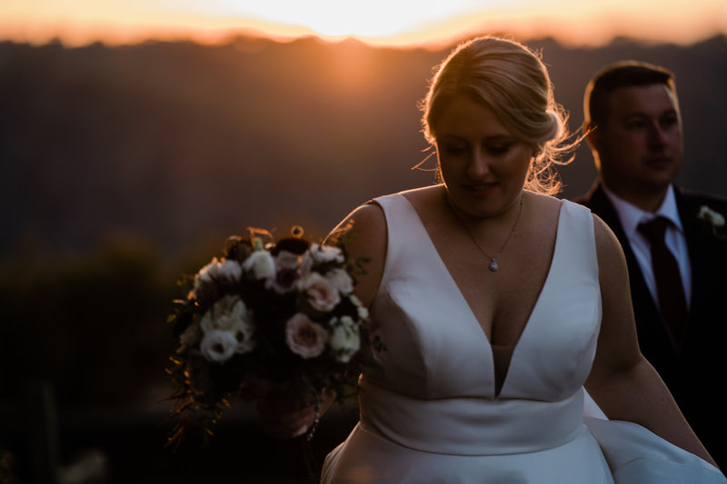 Casey and Jeff Cincinnati Wedding Photographer Eden Park at Sunset-1