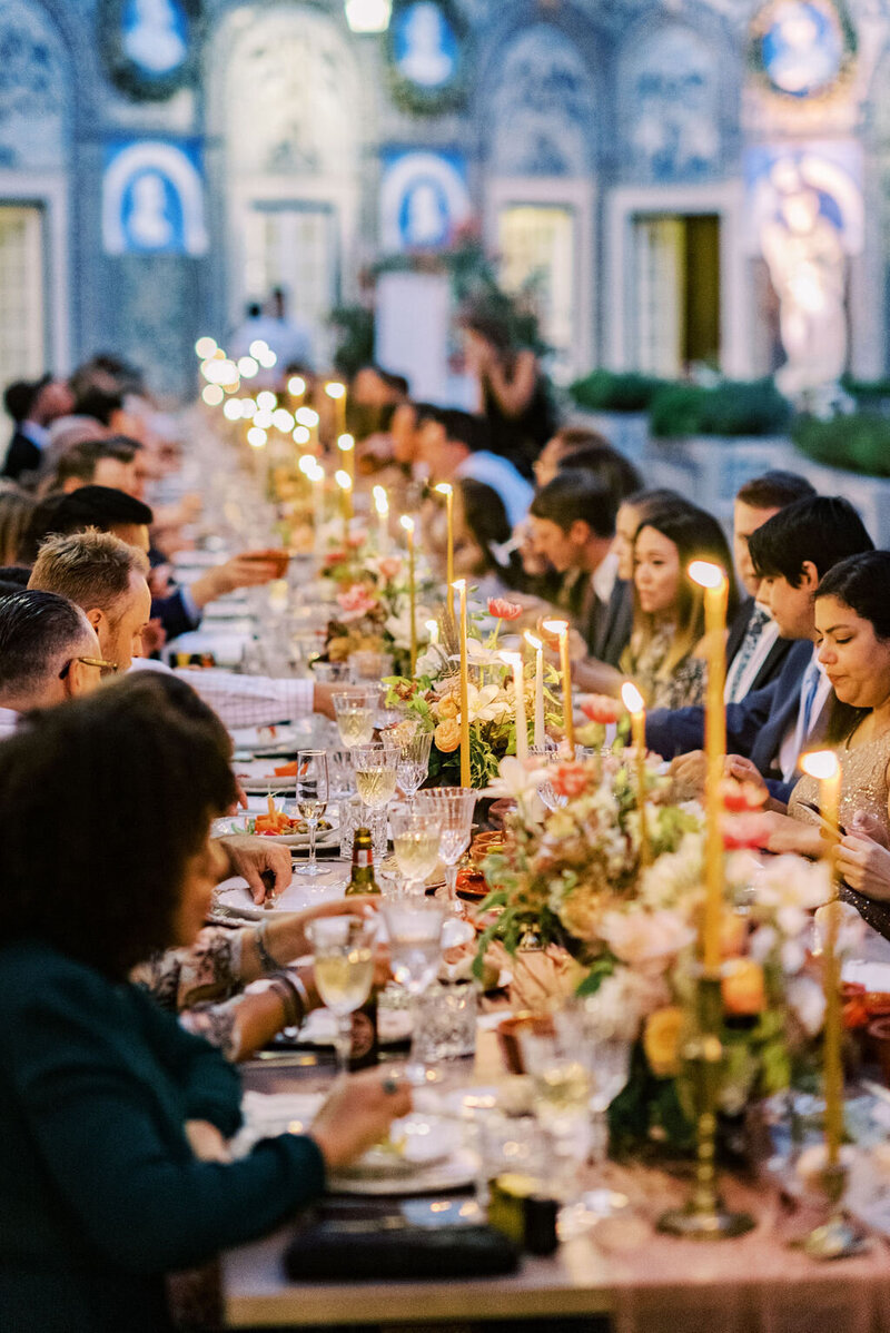Luxury Wedding Dinner by Sofia Nascimento Studios in Lisbon Portugal