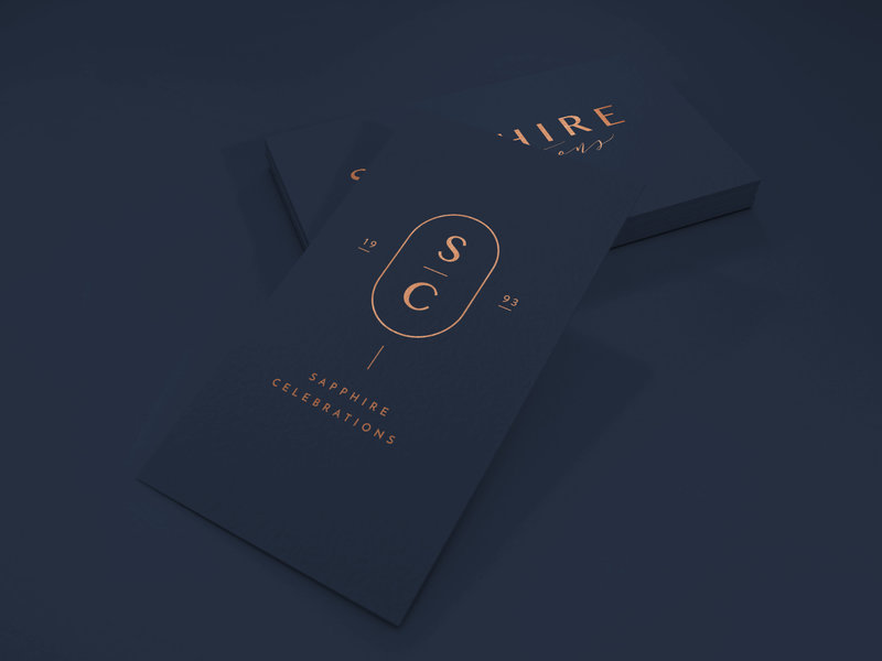 Logo and Business Card Design Foil