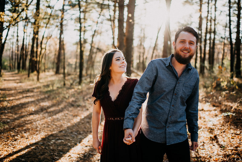 Late Fall Engagement Session at August Busch Wildlife Reserve-1