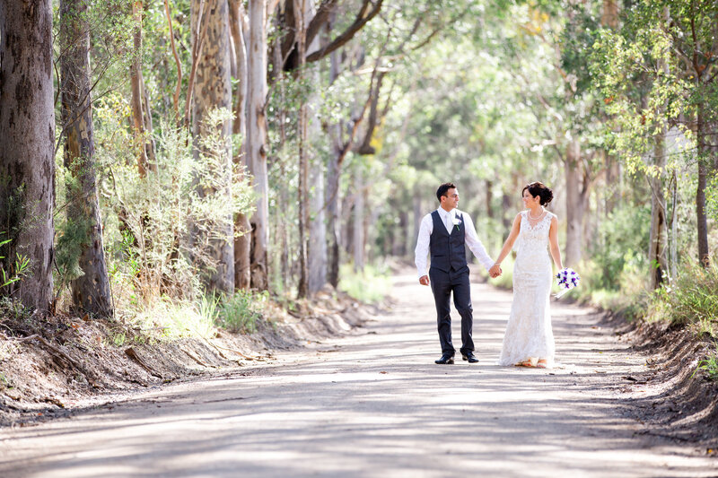 wandin valley wedding