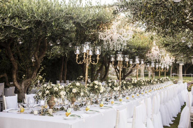 Luxury Wedding at Belmond Hotel Caruso in Ravello Italy - Alice Wilkes Design