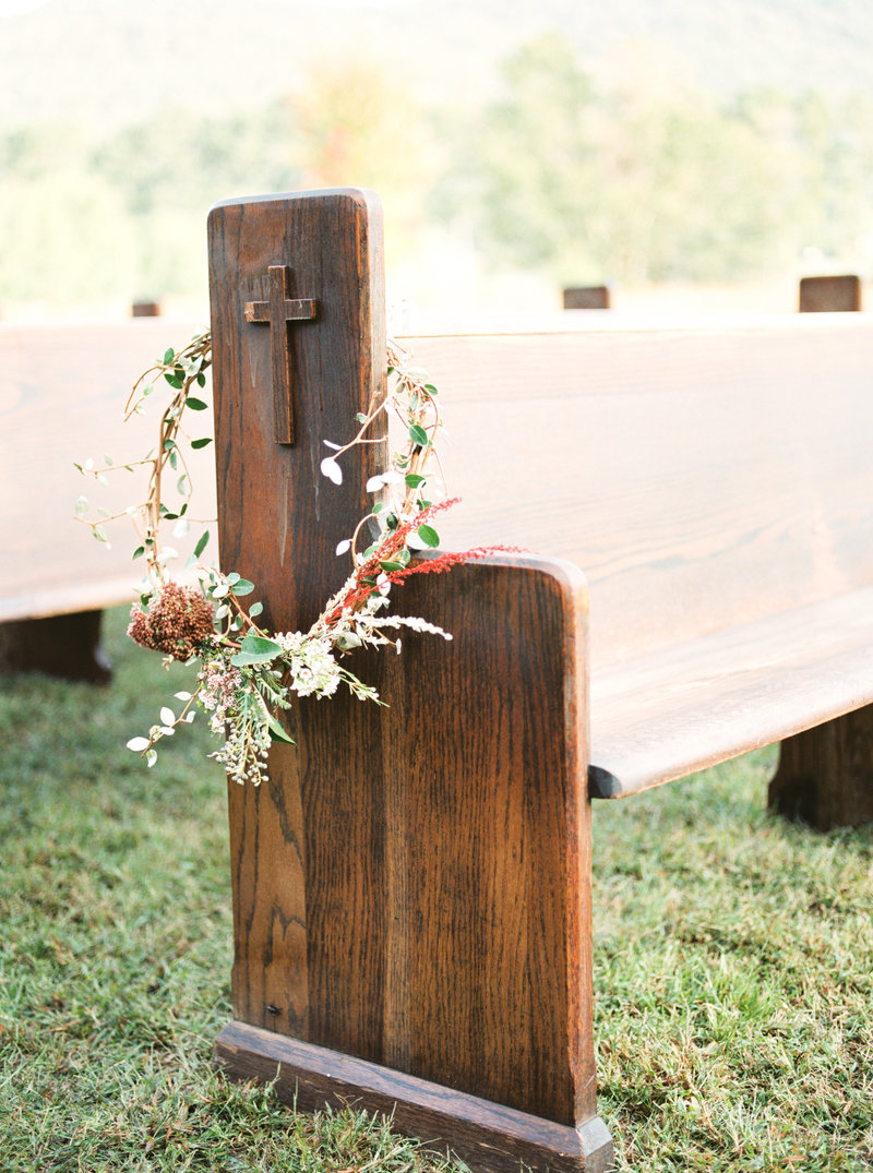 Timeless outdoor backyard garden wedding