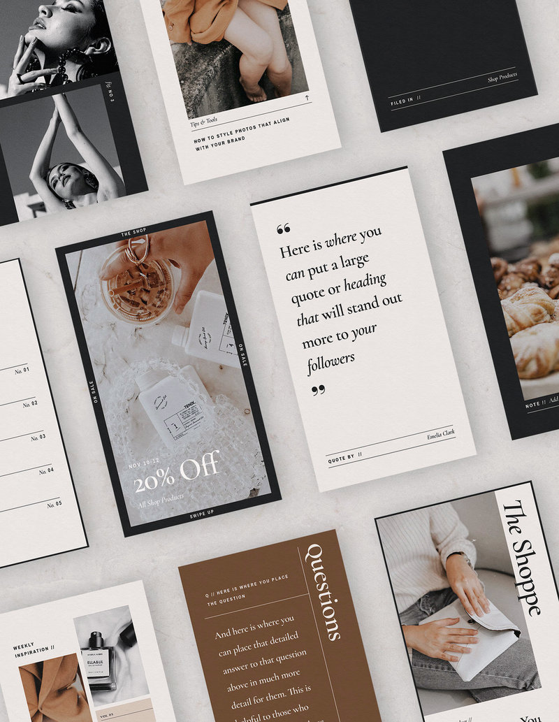 Social Media Templates for Creatives