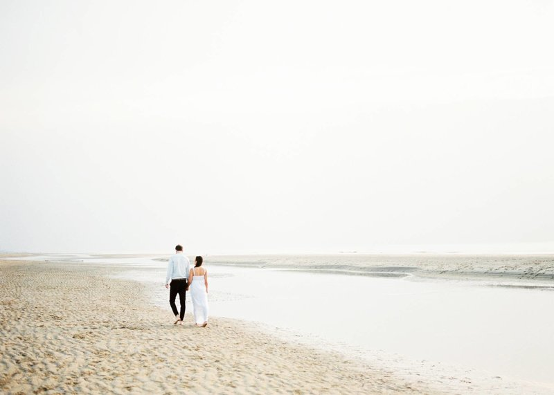 Lin & Marijn | engagement session photography at the beach the netherlands1