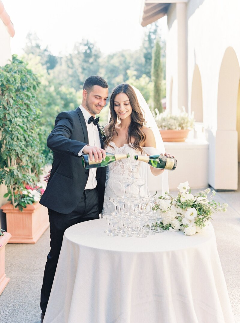 San Diego California Film Wedding Photographer - Rancho Bernardo Inn Wedding by Lauren Fair_0079