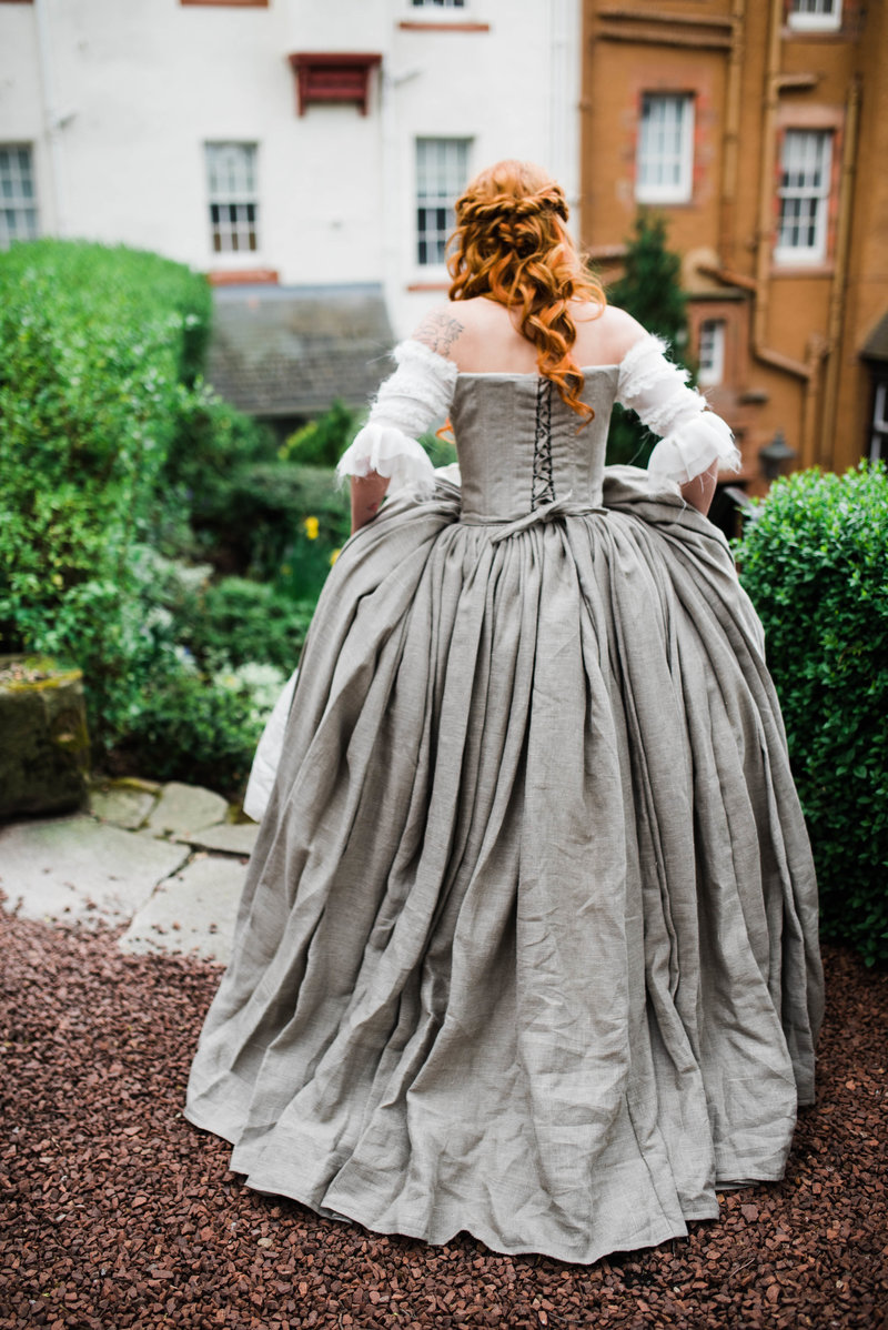 Wolf + Charlena-Outlander-Inspired-Wedding-Old-Glencorse-Kirk-Scotland_Gabby Chapin Photography_Print_0142