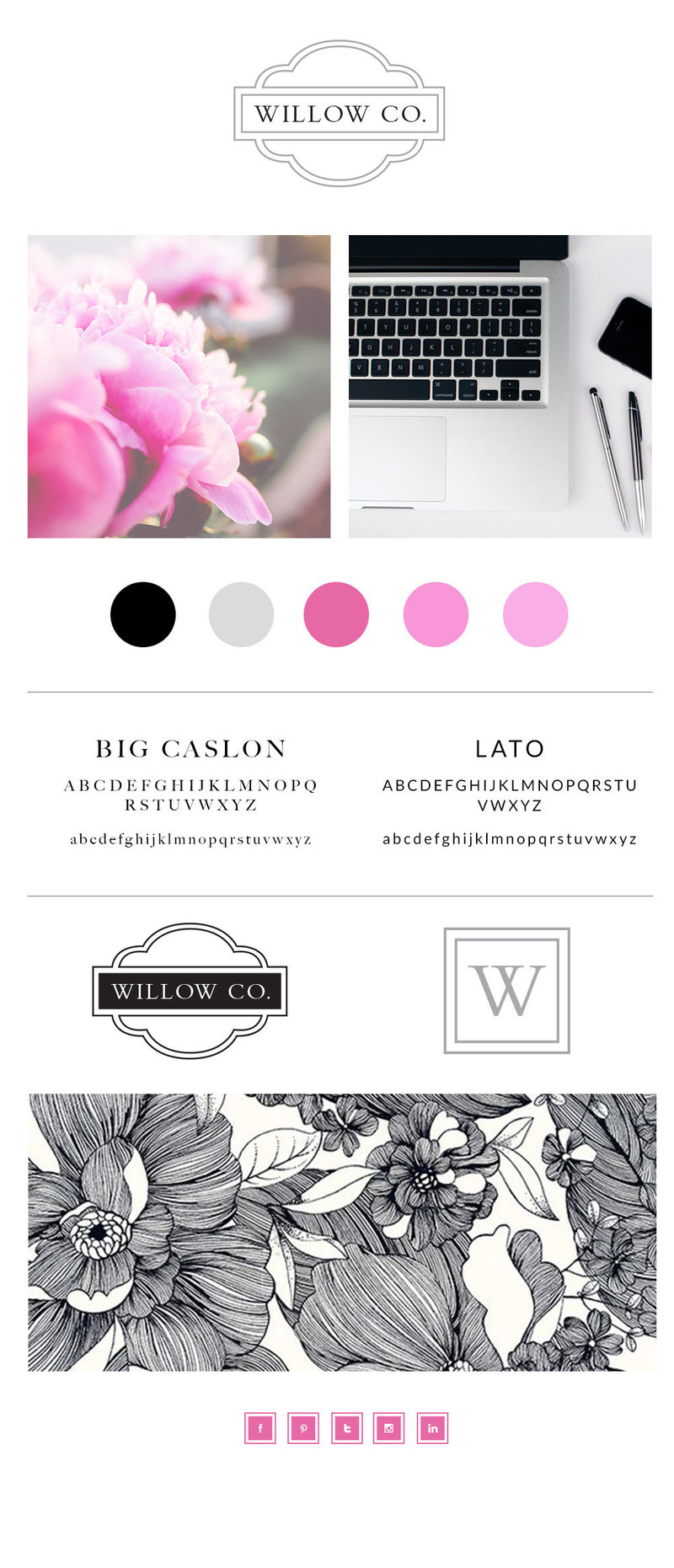 Willow-logo-branding-mood-board