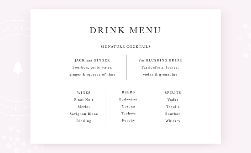 Belle-Measure_Adeline-Wedding-Collection_Drinks
