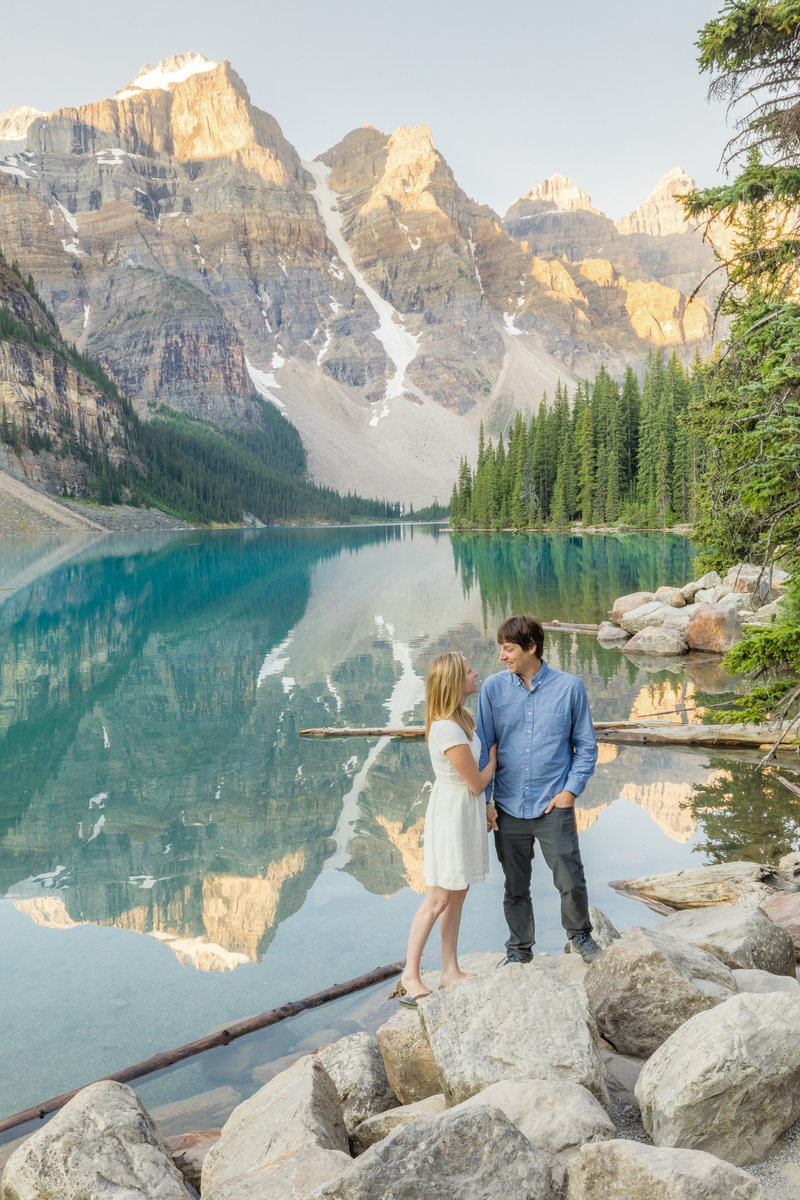 Moraine Lake Banff Sunrise KA