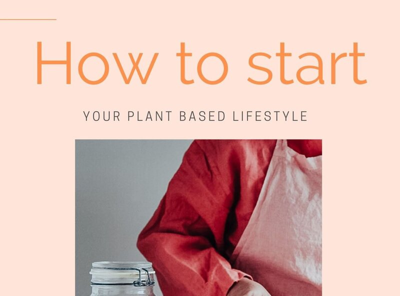 How to start your Plant-based lifestyle