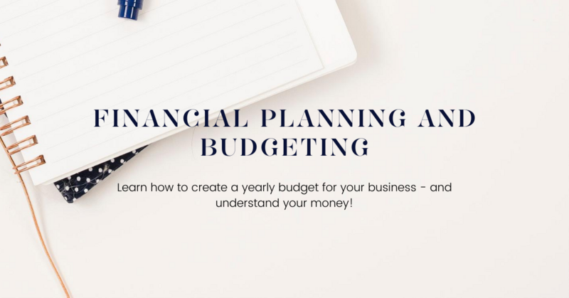financial budgeting and planning for wedding photographers