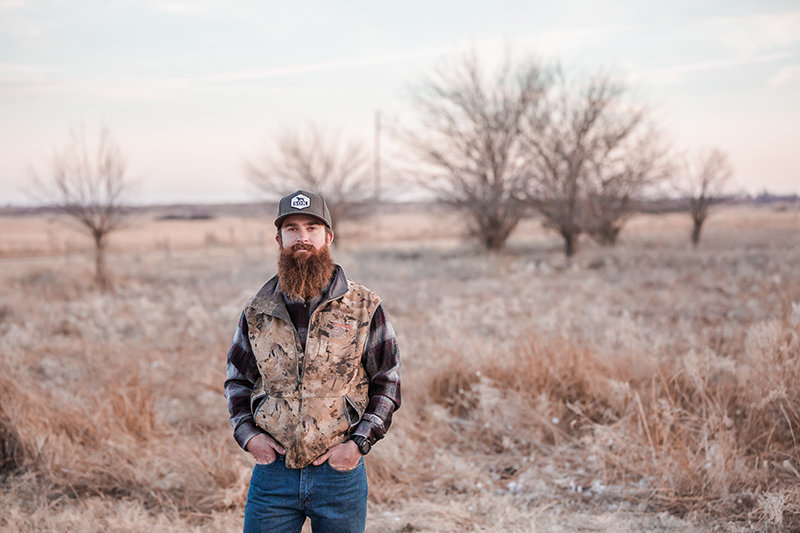 chase white a waterfowl guide in central kansas