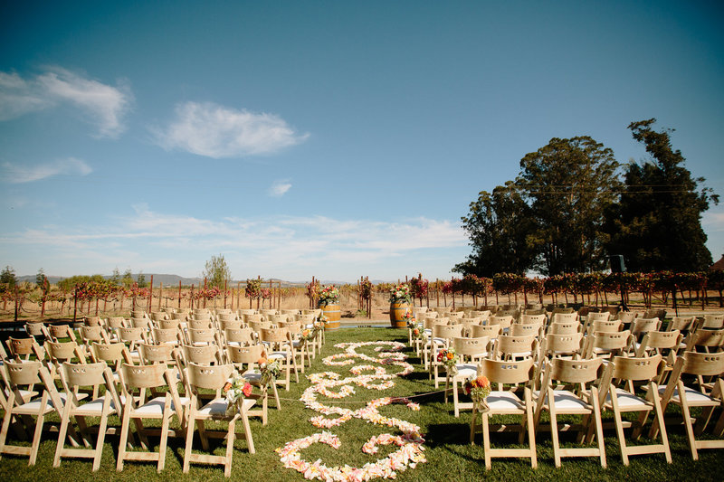 Wedding at Cornerstone Gardens in Sonoma