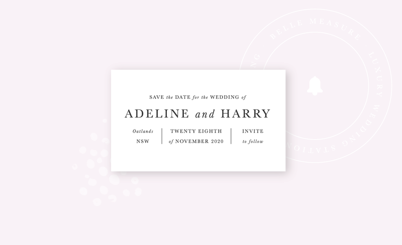 Belle-Measure_Adeline-Wedding-Collection_Save-The-Date