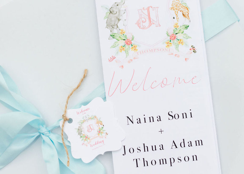 Wedding-Watercolor-Crest-The-Welcoming-District-Naina-Josh-3