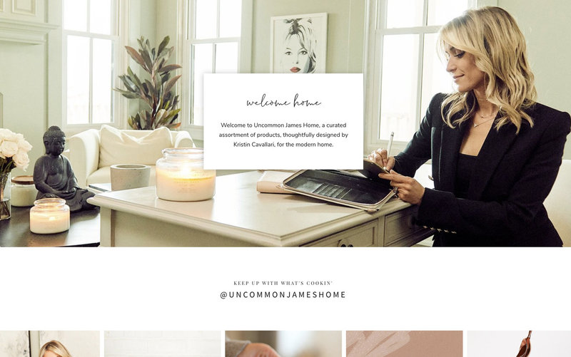 Handcrafting Heartfelt Brand & Website Designs for Female Creatives |  Showit | Showit Templates | by Viva la Violet | Uncommon James Home
