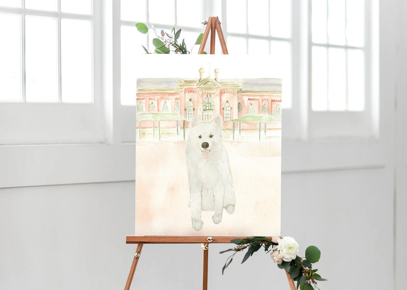 watercolor-pet-portrait-welcome-sign-H-The-Welcoming-District