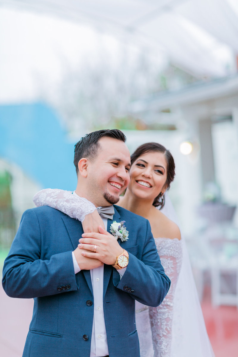 Rancho Las Fuentes Wedding | Mint and Purple-52