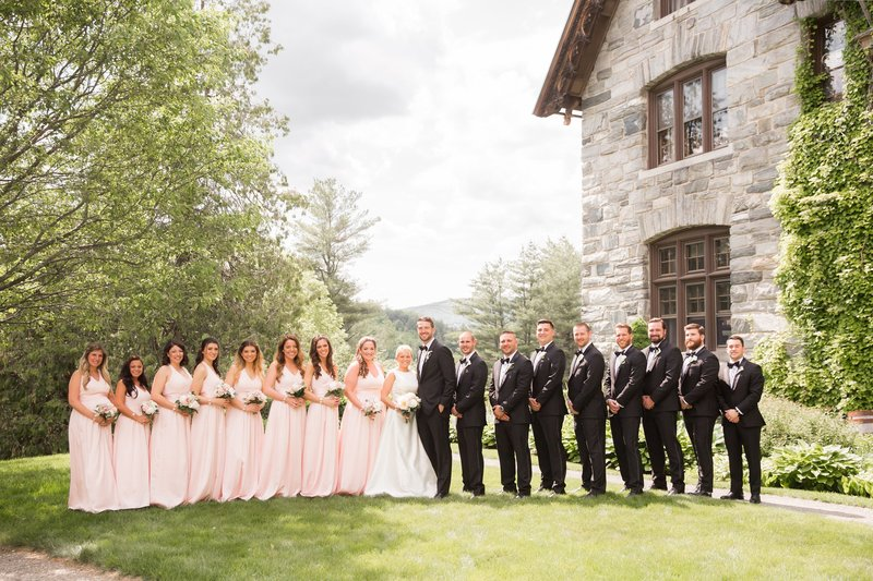 Bridal party photo by NJ Wedding Photographers