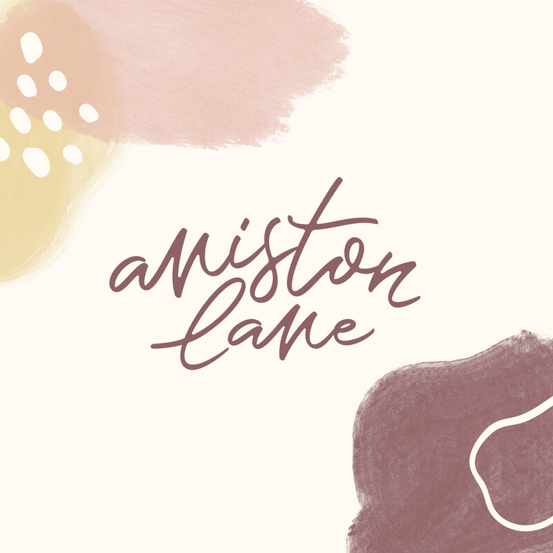 Aniston Lane Children's Brand Logo Design Etsy Shop