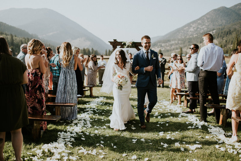 320 Guest Ranch Big Sky MT Wedding Ceremony