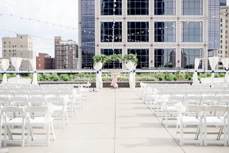 Indianapolis Indiana Regions Tower Wedding
