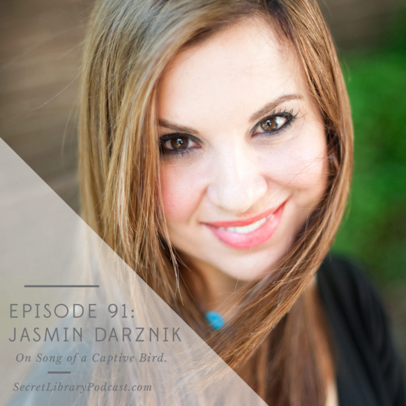 #91 Jasmin Darznik — Secret Library Podcast