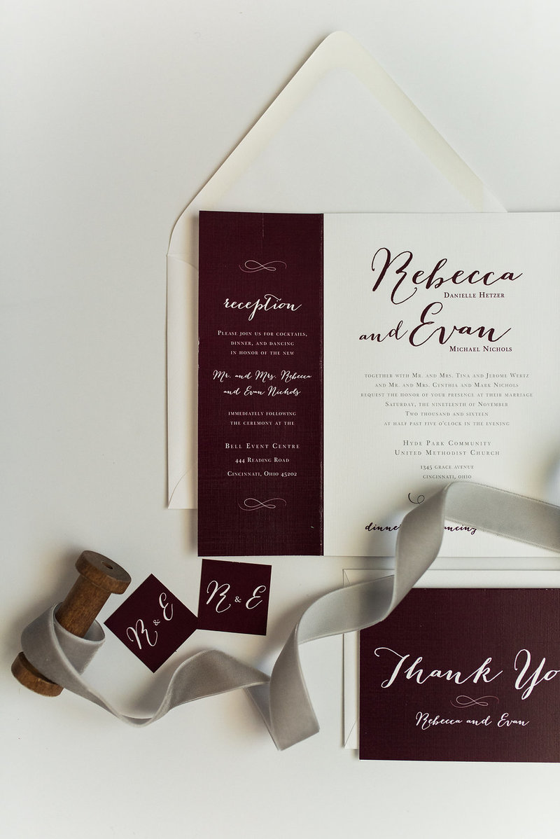 Hello Invite Design Studio - Cincinnati, Ohio Wedding Stationery Designer - Stationery Design, Stationery Designs - Photo - 63