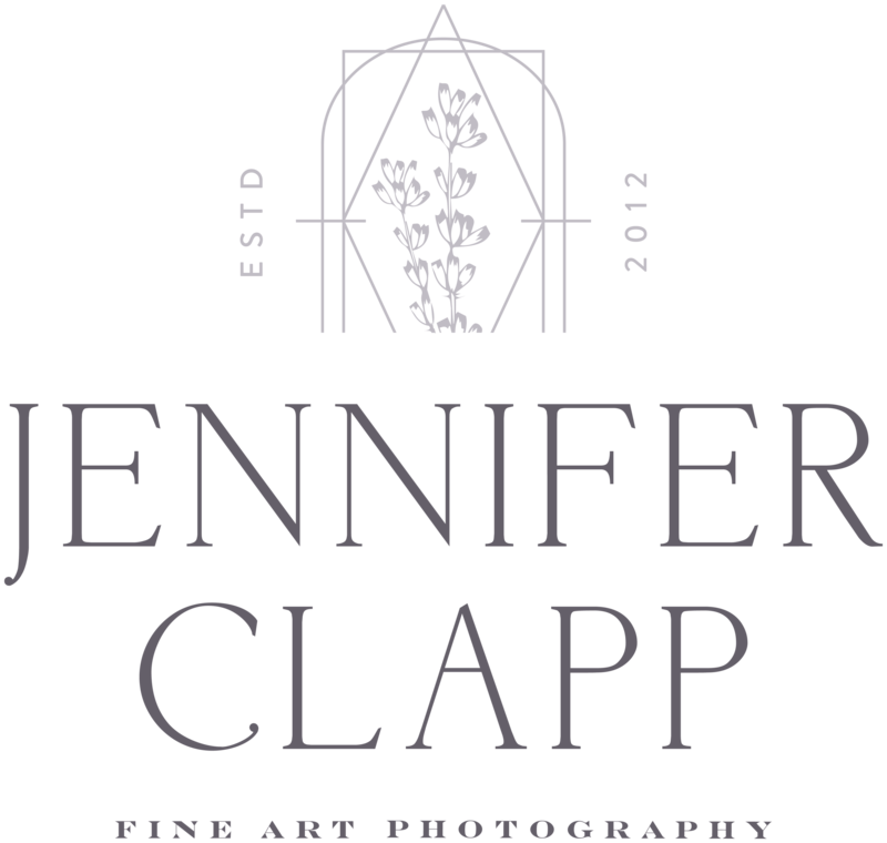 Jennifer Clapp Photography - Custom Brand and Showit Web Design for Photographer - With Grace and Gold - 2
