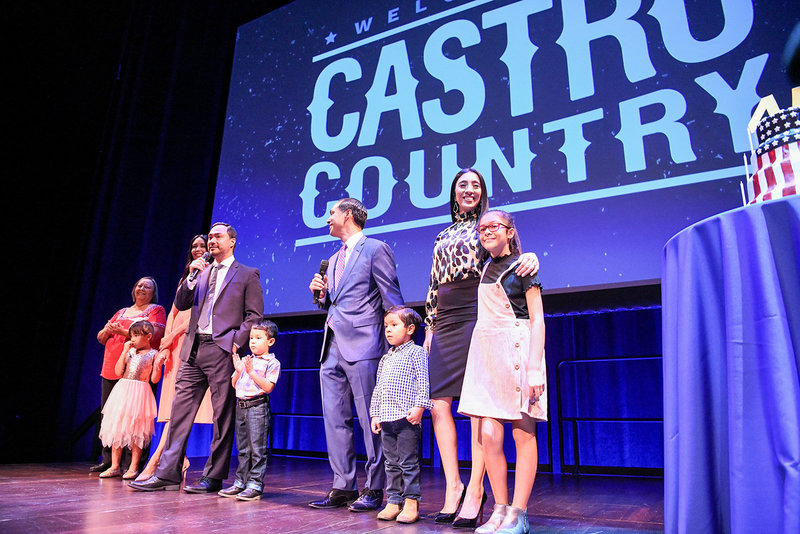 Julian Castro 2020 democratic primary family