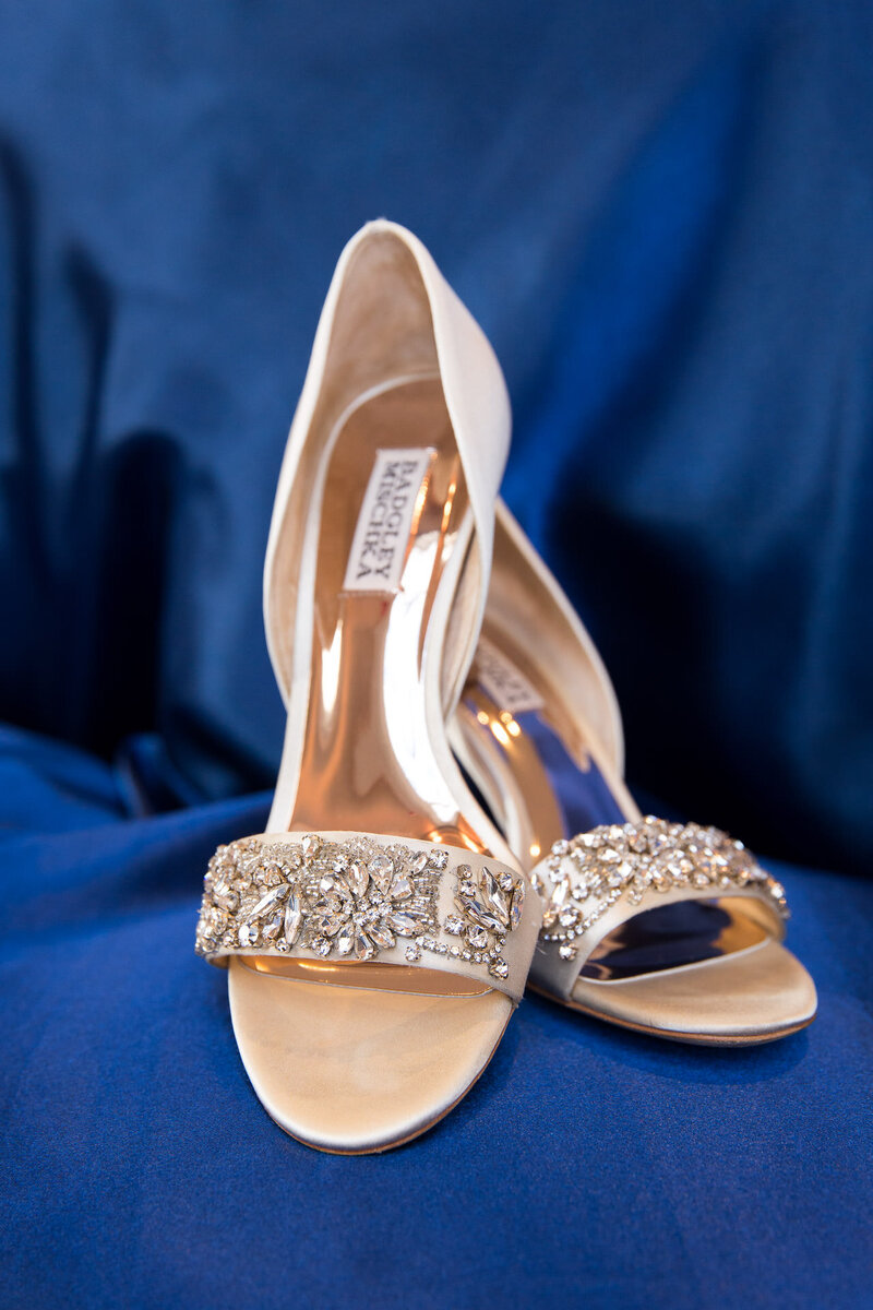 badgley mischka wedding day shoes