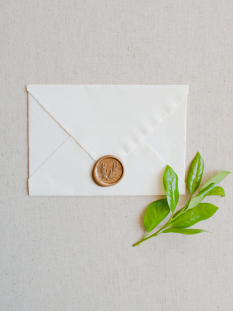 Wax Sealing Envelopes