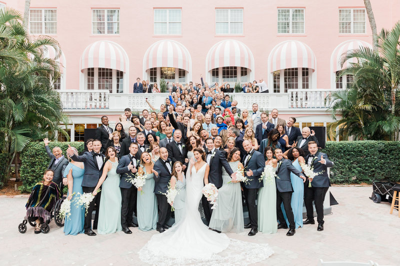 large guest photo at Don Cesar Wedding Photographer in St. Petersburgh Florida by Costola Photography