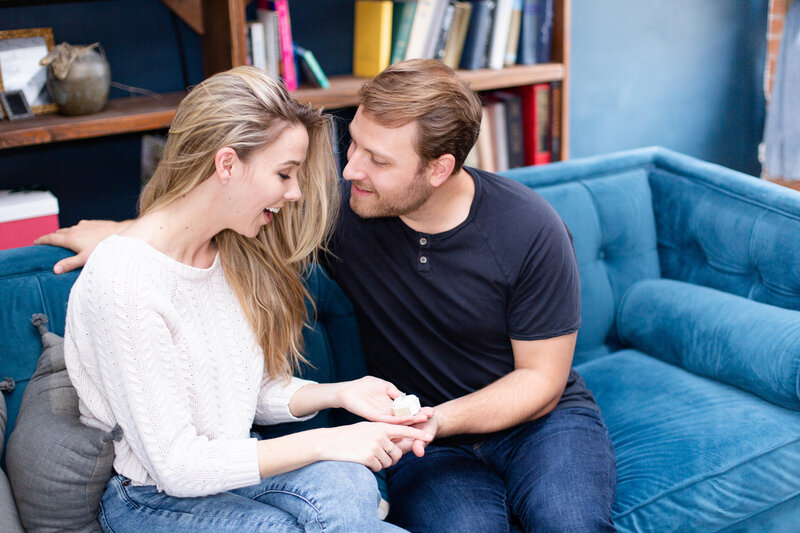 COZY LOFT ENGAGEMENT