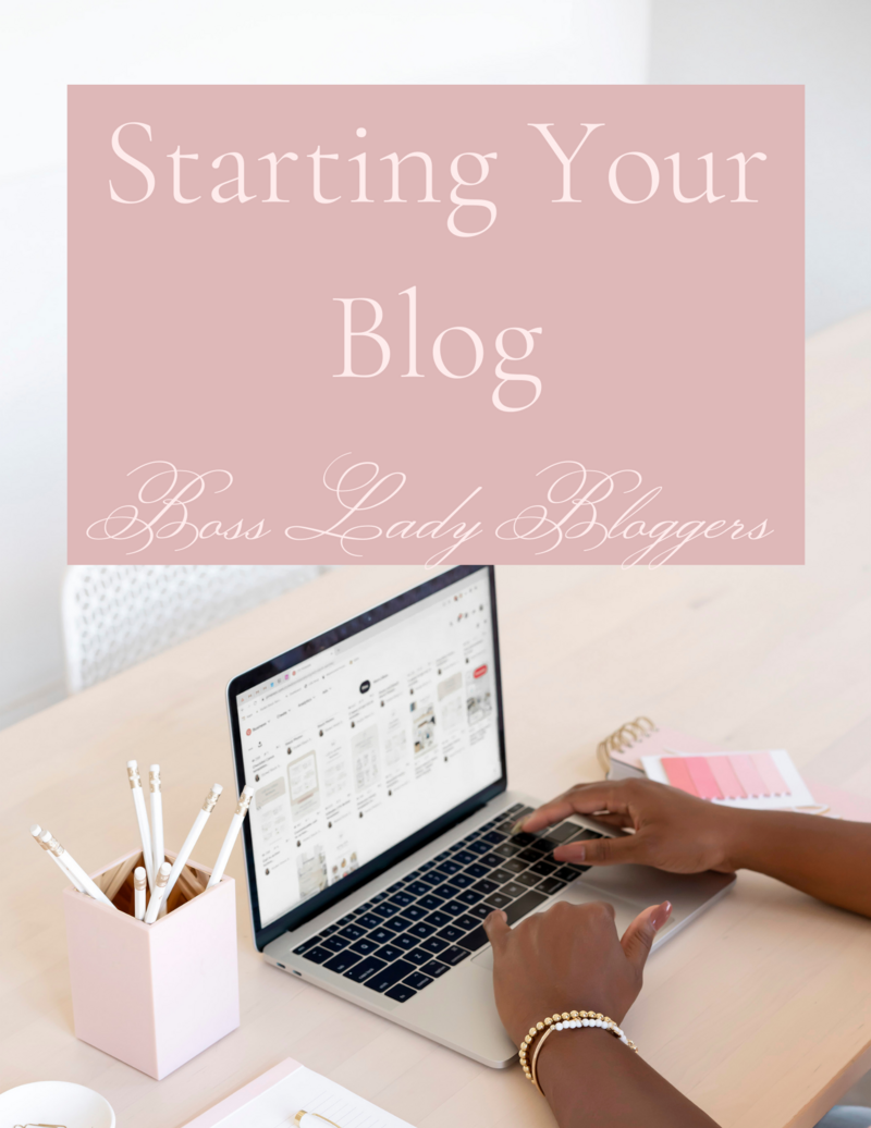 Starting Your Blog EBook