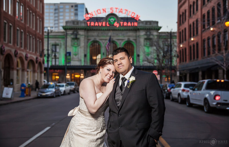 Winter Wedding at the Oxford Hotel in Downtown Denver