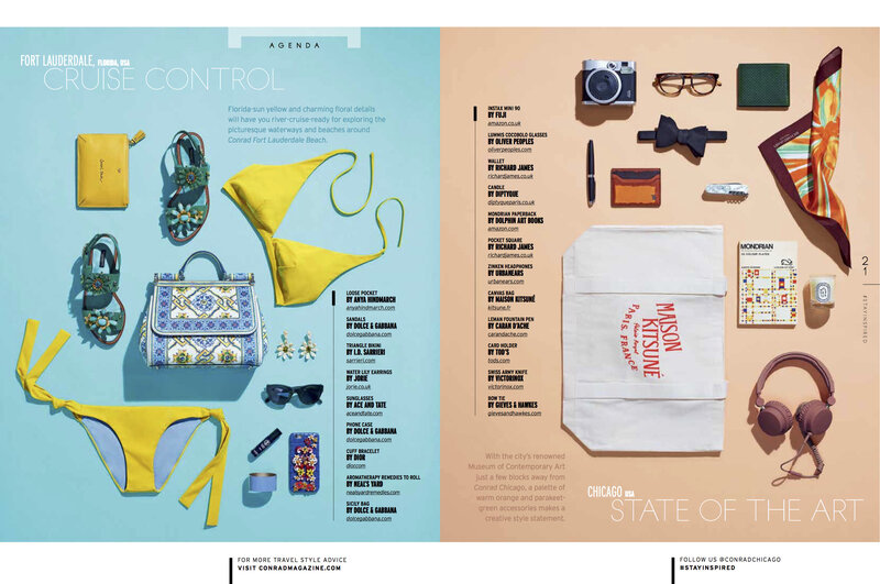 Conrad Magazine Smart Packing continued