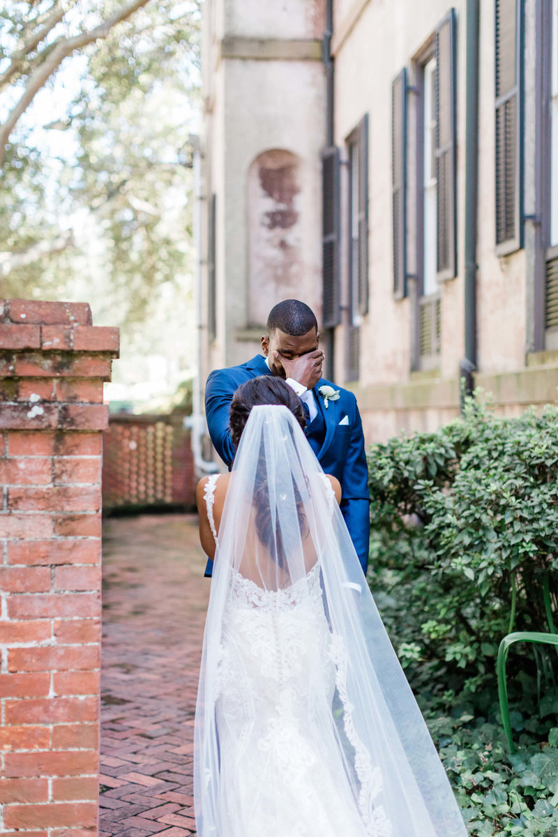 Kristin and Malik's Downtown Savannah Wedding by Apt. B Photography