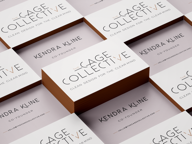 Cage Collective biz card 2Mockup