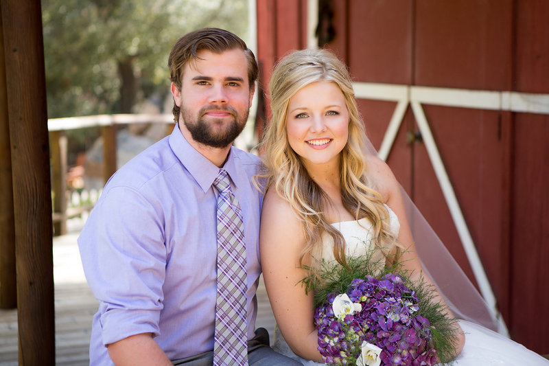 San Diego wedding photos rustic barn bride and groom