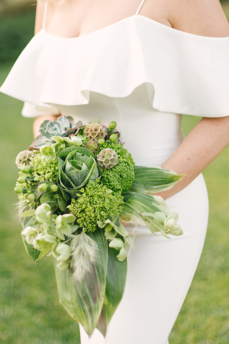 Bridal bouquet at Bacara Resort elopement