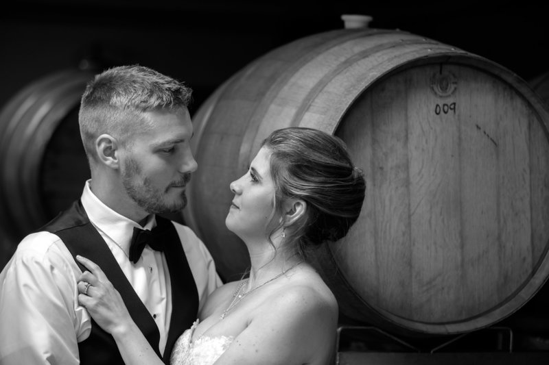 Finger Lakes Wedding at Glenora Vineyard