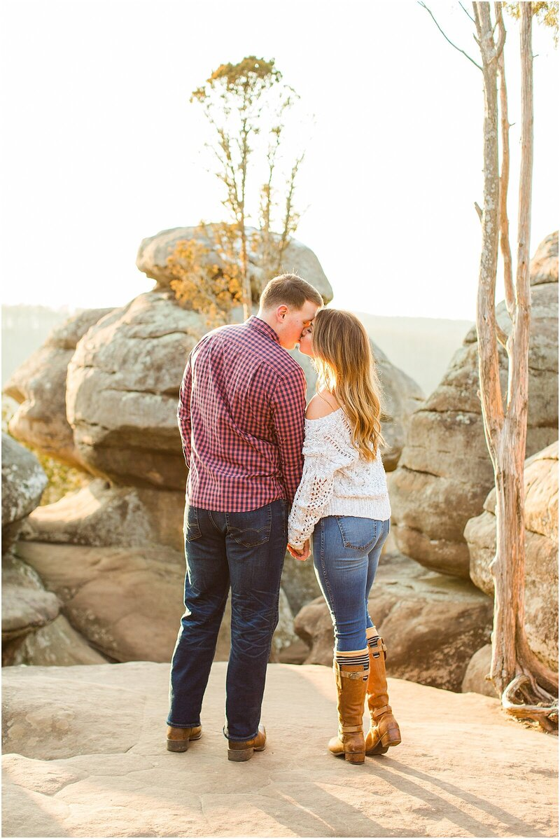 A Sunny Garden of the Gods Engagement Session | Shiloh and Lee | Bret and Brandie Photography059